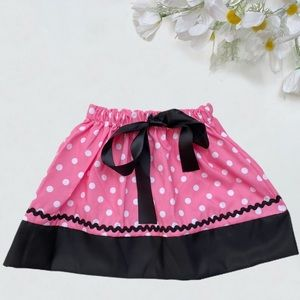 Other - Pink and Black Balloon Skirt